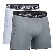 "Mens Under Armour ISO Chill 6"" 2 pack Boxer Brief Underwear Bottoms"