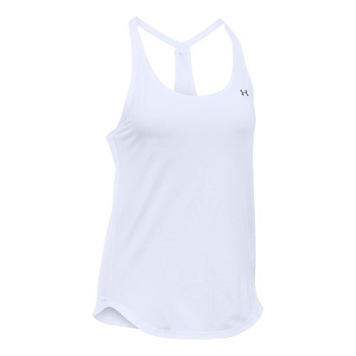 Womens Under Armour Heatgear Coolswitch Sleeveless & Tank Technical Tops - White XL