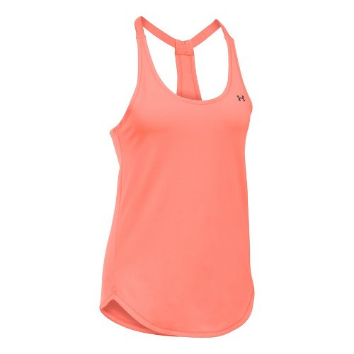 Womens Under Armour Heatgear Coolswitch Sleeveless & Tank Technical Tops - London Orange M