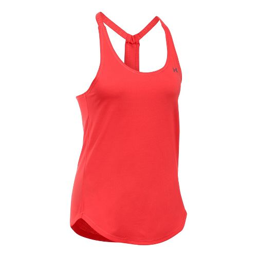 Womens Under Armour Heatgear Coolswitch Sleeveless & Tank Technical Tops - Pomegranate S