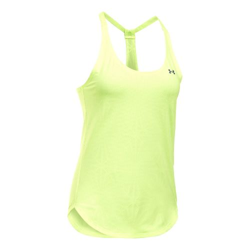 Womens Under Armour Heatgear Coolswitch Sleeveless & Tank Technical Tops - Pale Moonlight M