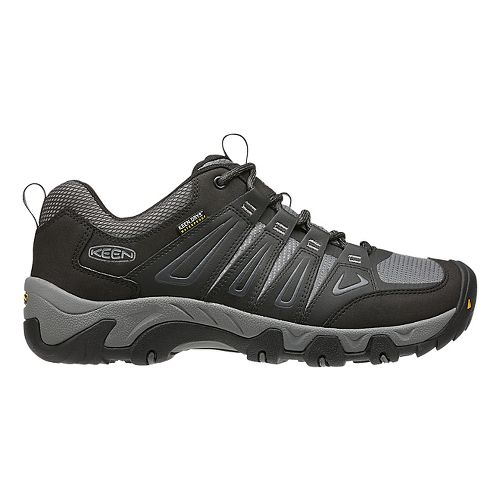 Mens Keen Oakridge WP Hiking Shoe - Magnet/Gargoyle 10.5