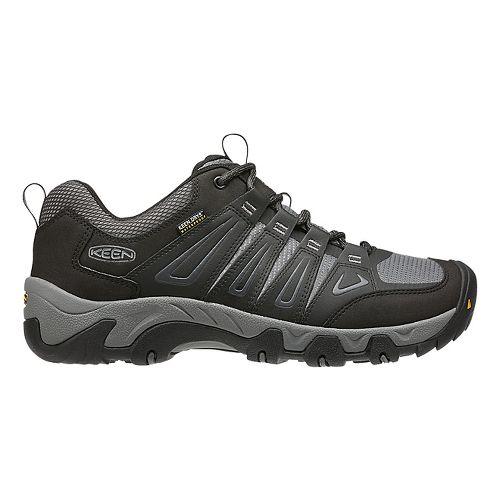 Mens Keen Oakridge WP Hiking Shoe - Magnet/Gargoyle 9.5