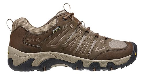 Mens Keen Oakridge WP Hiking Shoe - Cascade/Brindle 12