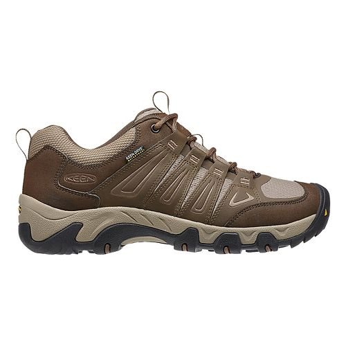 Mens Keen Oakridge WP Hiking Shoe - Cascade/Brindle 14