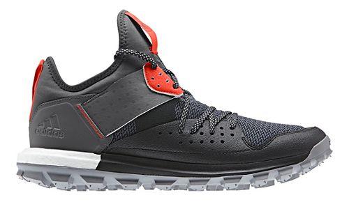 Mens adidas Response TR Trail Running Shoe - Black/Red 12