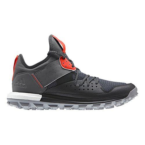 Mens adidas Response TR Trail Running Shoe - Black/Red 11.5