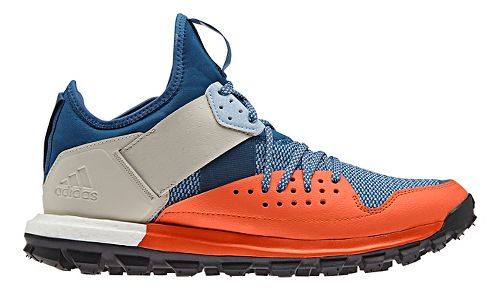 Mens adidas Response TR Trail Running Shoe - Orange/Blue 8.5