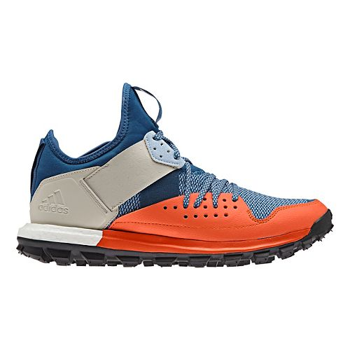 Mens adidas Response TR Trail Running Shoe - Orange/Blue 8
