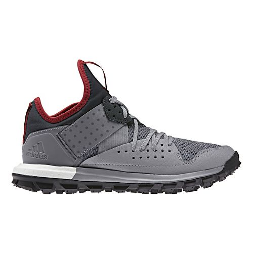 Womens adidas Response TR Trail Running Shoe - Grey/Black 5.5