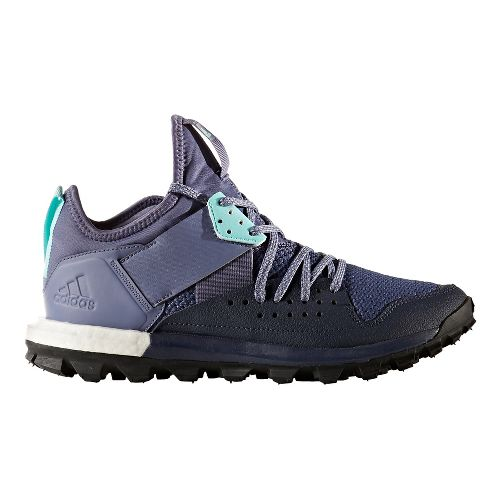 Womens adidas Response TR Trail Running Shoe - Purple/Aqua 11