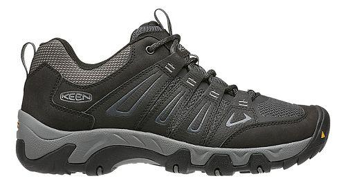 Mens Keen Oakridge Hiking Shoe - Black 8