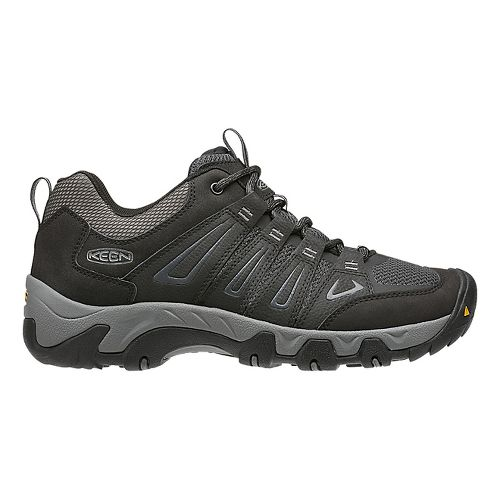 Mens Keen Oakridge Hiking Shoe - Black 11.5