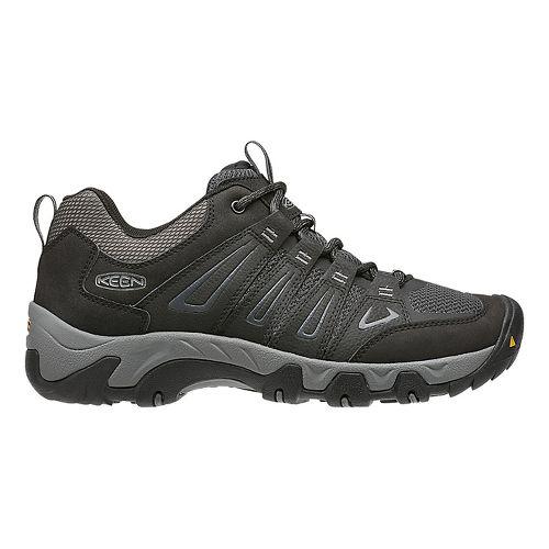 Mens Keen Oakridge Hiking Shoe - Black 13
