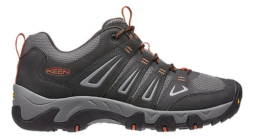 Mens Keen Oakridge Hiking Shoe - Raven/Ochre 10