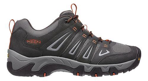 Mens Keen Oakridge Hiking Shoe - Raven/Ochre 8.5