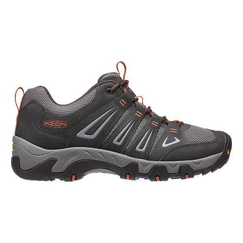 Mens Keen Oakridge Hiking Shoe - Raven/Ochre 11