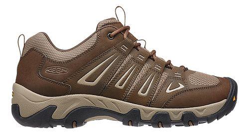 Mens Keen Oakridge Hiking Shoe - Cascade/Brindle 11