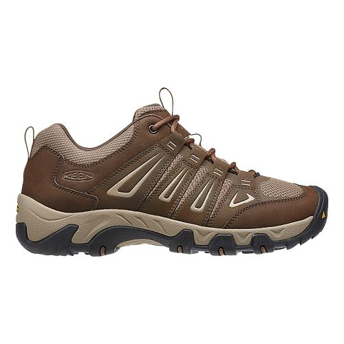 Mens Keen Oakridge Hiking Shoe - Cascade/Brindle 11