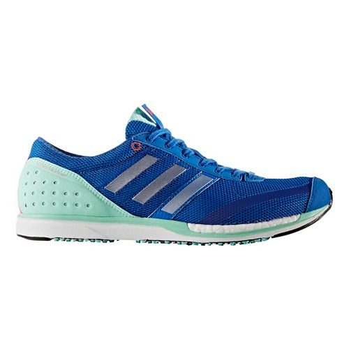 adidas Adizero Takumi-Sen 3 Racing Shoe - Blue/Green 10.5