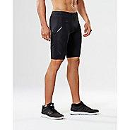 Mens 2XU TR2 Compression & Fitted Shorts - Black/Nero L