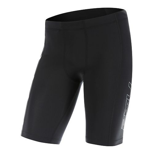 Mens 2XU Compression & Fitted Shorts - Black/White XL