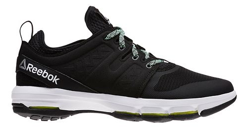 Womens Reebok Cloudride DMX Walking Shoe - Black/Mint 8