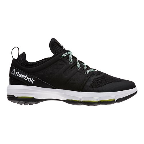 Womens Reebok Cloudride DMX Walking Shoe - Black/Mint 6