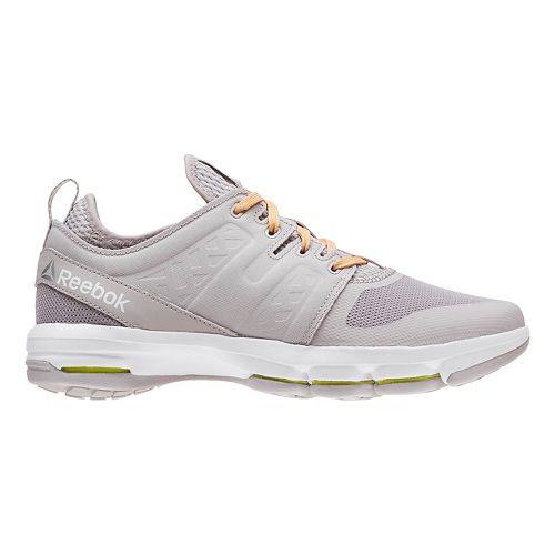 Womens Reebok Cloudride DMX Walking Shoe - Grey/Orange 8.5
