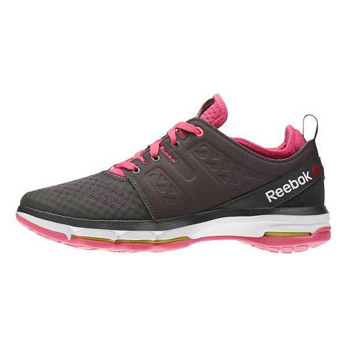 Womens Reebok Cloudride DMX Walking Shoe - Dark Grey/Pink 9