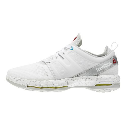 Womens Reebok Cloudride DMX Walking Shoe - White/Silver 9