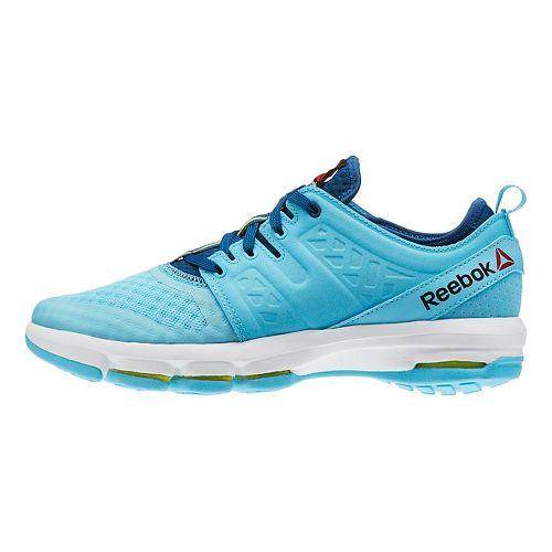 Womens Reebok Cloudride DMX Walking Shoe - Blue/White 7.5