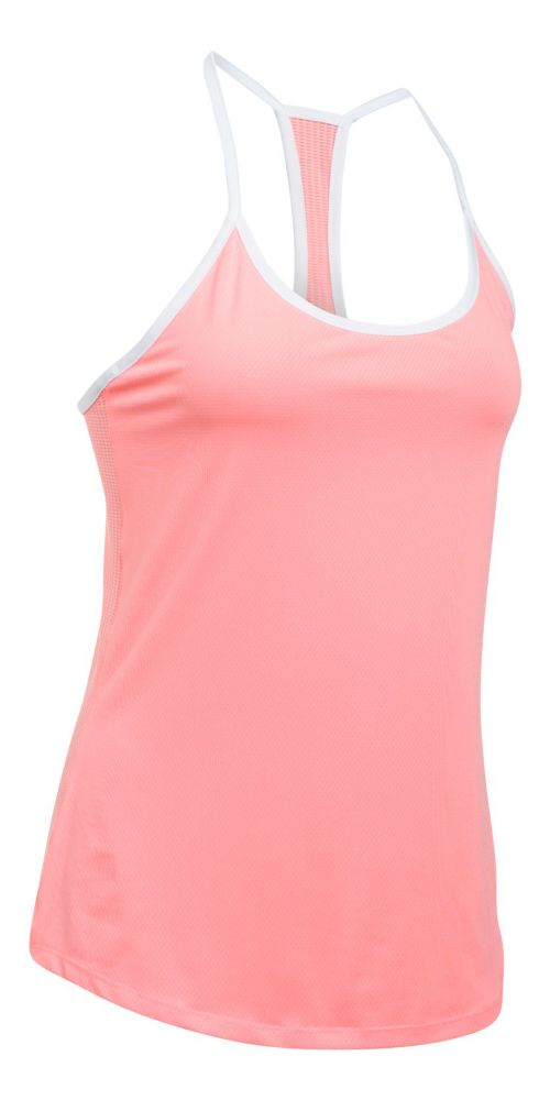 Womens Under Armour Fly By Racerback Sleeveless & Tank Technical Tops - Cape Coral L