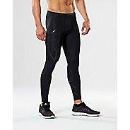 Mens 2XU TR2 Compression Tights & Leggings Pants - Black/Nero XXS