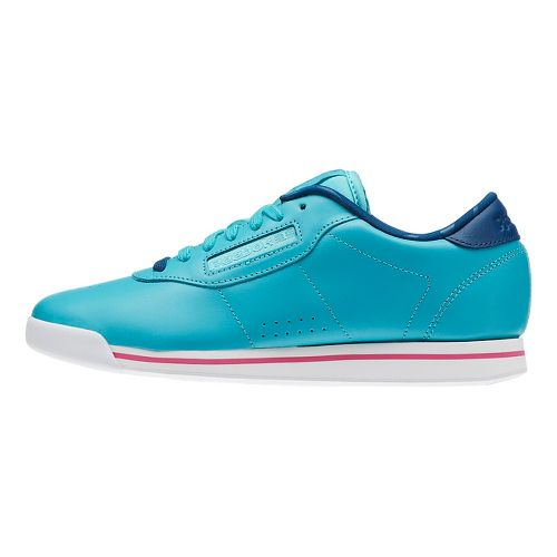 Womens Reebok Princess Candy Girl Casual Shoe - Blue/White 5.5