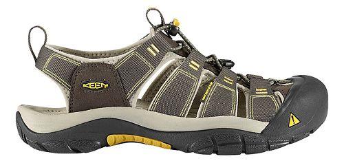 Mens Keen Newport H2 Sandals Shoe - Raven/Aluminum 14