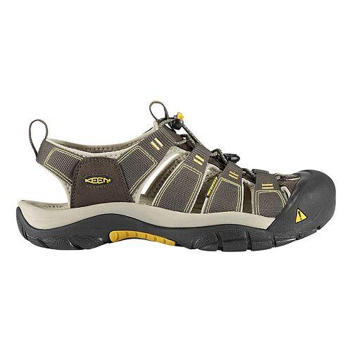 Mens Keen Newport H2 Sandals Shoe - Raven/Aluminum 8.5