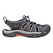 Mens Keen Newport H2 Sandals Shoe - Ink/Rust 10