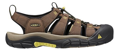 Mens Keen Newport H2 Sandals Shoe - Dark Earth 10