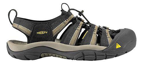 Mens Keen Newport H2 Sandals Shoe - Black/Stone 7