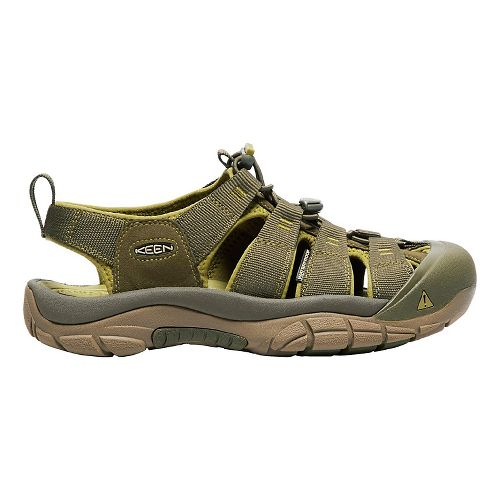 Mens Keen Newport H2 Sandals Shoe - Olive/Green 11.5