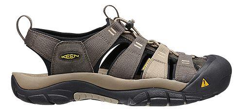 Mens Keen Newport H2 Sandals Shoe - Olive/Brindle 8.5