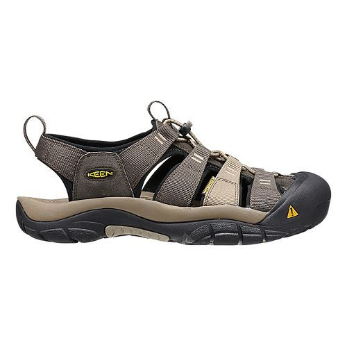 Mens Keen Newport H2 Sandals Shoe - Olive/Brindle 10