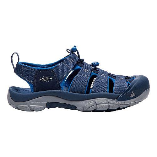 Mens Keen Newport H2 Sandals Shoe - Blue 7