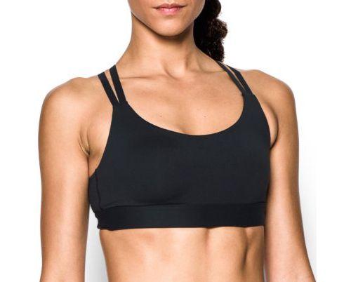 Womens Under Armour Eclipse Low Sports Bra - Black XL