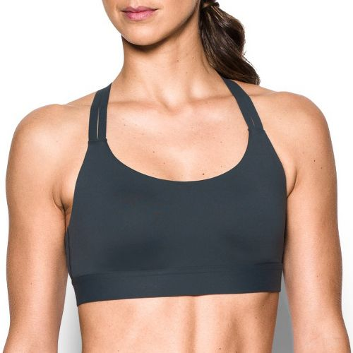 Womens Under Armour Eclipse Low Sports Bra - Stealth Grey S