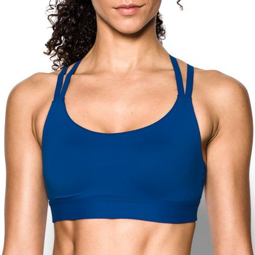 Womens Under Armour Eclipse Low Sports Bra - Royal XS