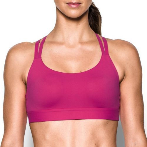 Womens Under Armour Eclipse Low Sports Bra - Tropic Pink L
