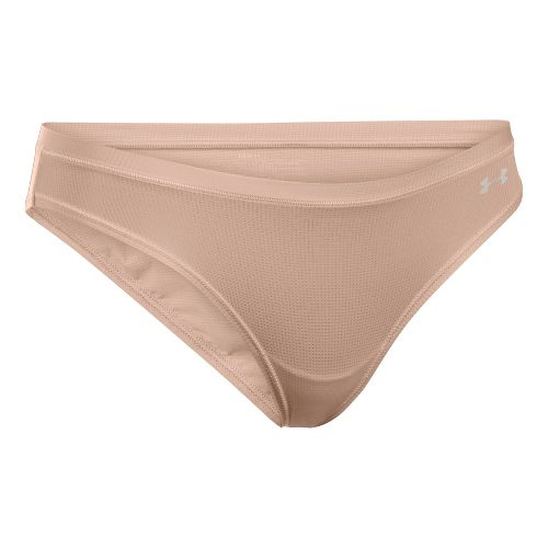 Womens Under Armour Pure Stretch Sheers Bikini Underwear Bottoms - Nude S