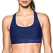 Womens Under Armour Mid Crossback Sports Bras - Europa Purple M